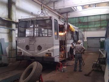 Троллейбус ЮМЗ-Т1 №201