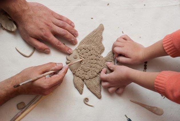 Изделия из обычной глины