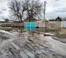 У Борівському ґрунтові води затопили подвір'я