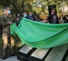 На території військового  госпіталю відкрили меморіальний знак медичним працівникам, які загинули під час бойових дій