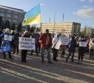 У Сєвєродонецьку мітингували проти карантину вихідного дня