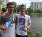 Чемпионат Украины по марафонским заплывам в ластах