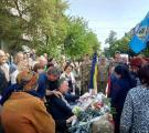 """11 мая в Северодонецке состоялось прощание с бойцом """"Айдара"""" Сергеем Дрогиным"""