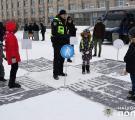 Діти Луганщини відзначили «Різдво з поліцейськими»