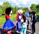 В парке микрорайона Южный г. Рубежное открылся сезон-2019