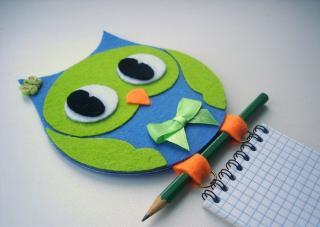 Мастер-класс по созданию органайзера для блокнота и ручки