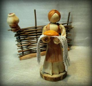 Мастер-класс: Кукурузная кукла