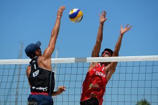 Чемпионат по пляжному волейболу среди мужчин