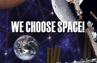 We choose space!