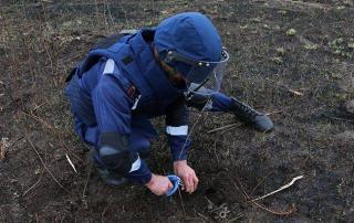 Возле Северодонецка нашли боеприпасы времен Второй мировой войны