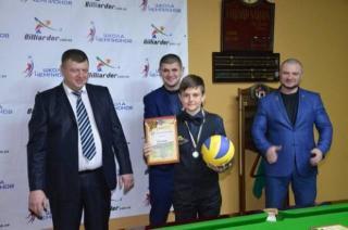 Луганский бильярдист завоевал серебро на чемпионате Украины