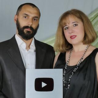 Семейная пара из Северодонецка получила серебряную кнопку youtube