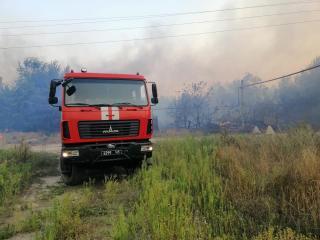 Пожежо-небезпечна ситуація в Станично-Луганському та Новоайдарському районах