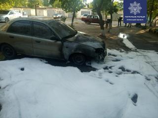Поджог автомобилей в Северодонецке: подробности