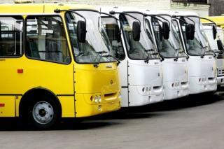 Розклад руху маршрутних таксі до озера Кривеньке