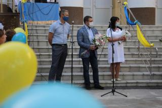 В День знань керівництво області та міста відвідало школи №5 та №10 Сєвєродонецька