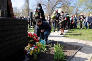 На Луганщині відзначили 35-і роковини аварії на ЧАЕС