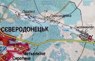 Олександрівка між Стигло і Дуванським