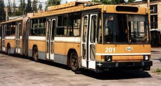 Северодонецкие «троллейбусы-гармошки»