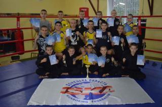 Кикбоксинг WPKA и ISKA: Луганская областная сборная выиграла 39 медалей и 2-е командное место в открытом Кубке Донецкой области