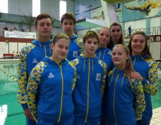 Наші стрибуни у воду привезли зі всеукраїнської першості 18 медалей