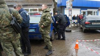 В Северодонецке совершено вооруженное нападение на полицейских
