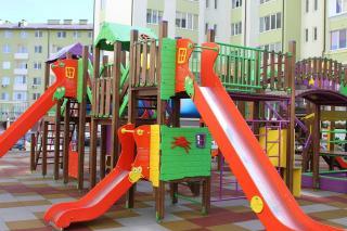 Валентина Нарыжная об установке детской площадки