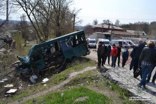 У зв'язку з ДТП, що сталась в районі Гори Попової, здійснюється об'їзд