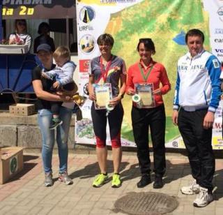 Наші спортсмени зі спортивного орієнтування на всеукраїнських змаганнях