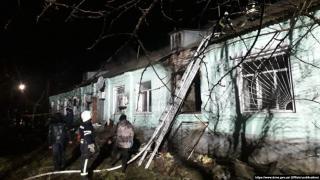 На Луганщине в результате пожара погибло четверо пациентов психоневрологического интерната