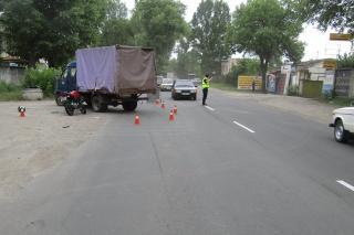 Поліція встановлює обставини двох ДТП, що стались у м. Сєвєродонецьк