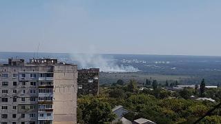 Жители Лисичанска и Северодонецка задыхались от смога неизвестного происхождения
