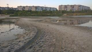 В Северодонецке высохла половина Чистого озера