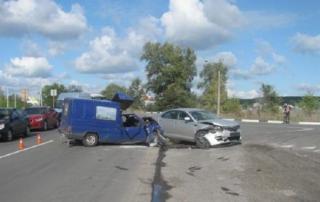 В Северодонецке в результате ДТП пострадали четыре человека