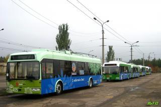 Изменения в движении троллейбусов