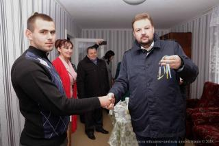 Хлопець-сирота отримав ключі від квартири у Сєвєродонецьку