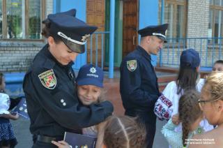 """На Луганщине стартовал проект """"Школьный офицер полиции"""""""