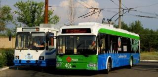 Розклад руху тролейбусів на маршрутах міста