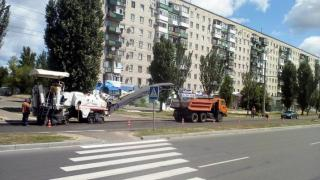 В Северодонецке ремонтируют дорогу