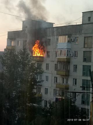 По вулиці Курчатова горіла квартира. Є загиблі