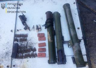 В Сєвєродонецьку виявлено схрон з військовими засобами ураження