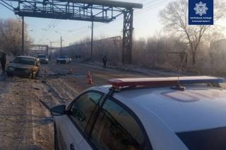 В Северодонецке случилось ДТП: есть пострадавшая