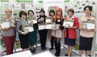 Золота медаль у Сєвєродонецького  міського Центру еколого-натуралістичної  творчості учнівської молоді