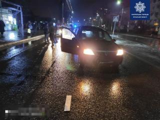 В Северодонецке иномарка сбила 64-летнего пьяного пешехода