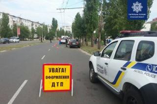 В Северодонецке случилось ДТП с участием пяти автомобилей