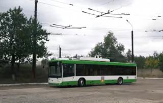 Три города Луганщины объединят троллейбусом