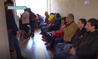 В Северодонецке выстраиваются очереди для изменения места голосования