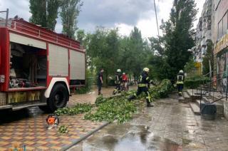 Непогода наделала беды в Лисичанске и Северодонецке