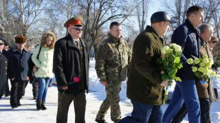 В Сєвєродонецьку поліцейські прийняли участь в урочистостях, присвячених 75-річниці визволення міста від фашистських загарбників