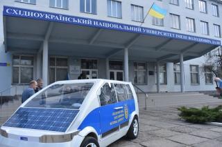 У Сєвєродонецьку презентували електромобіль на ім'я Єва